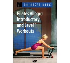 Image DVD Pilates Allegro Introductory and Level 1, inglese
