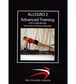Image DVD Pilates Coach Allegro Reformer II Advanced, Inglese