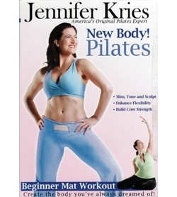 Image DVD Jennifer Kries New Body! Pilates, inglese
