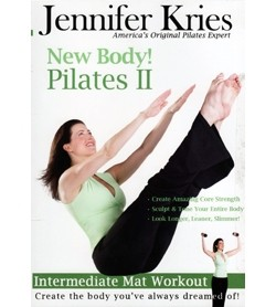 Image DVD Jennifer Kries New Body! Pilates II, inglese