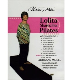 Image DVD Lolita Shares Her Pilates, inglese