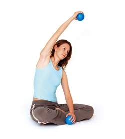 Image DVD Pilates Power Ball Sculpt, inglese