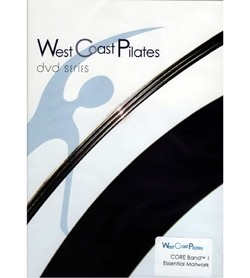 Image DVD West Coast Pilates Core Band, inglese