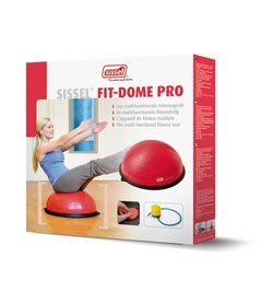 Image SISSEL® FIT DOME PRO 56x 62 x 20, Ø 40 cm, rosso