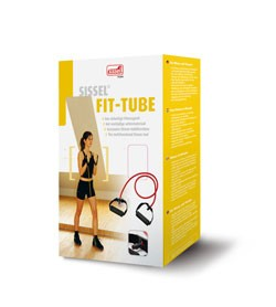Image SISSEL® FIT TUBES Elastico con maniglie blu (extra-forte) in scatola