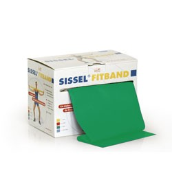 Image SISSEL® FITBAND 14,5 cm x 25 m, verde  (forte)