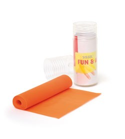 Image SISSEL® FUN-&ACTIVE-BAND 15 cm x 2 m, orange (leggera)