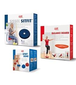 Image KIT EQUILIBRIO: SpikyDome + Balanced Board + Sitfit 33