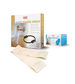 Image KIT PILATES: ToningBall450 + PilatesBandBianca + PilatesCircle