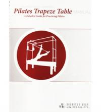 Manuale B.B.U. Pilates Trapeze Table, inglese