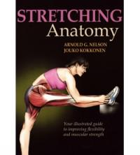 Libro Stretching Anatomy, inglese