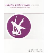 Manuale B.B.U. Pilates Exo Chair, inglese