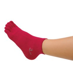 Image SISSEL® PILATES Socks viscosa - L/XL (41-45), rosso