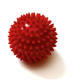Image SISSEL® SPIKY-BALL Ø 9 cm, sfusa, cf 10 pz, rosso