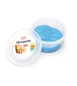 Image SISSEL® THERAPUTTY modellabile, blu (x-forte)